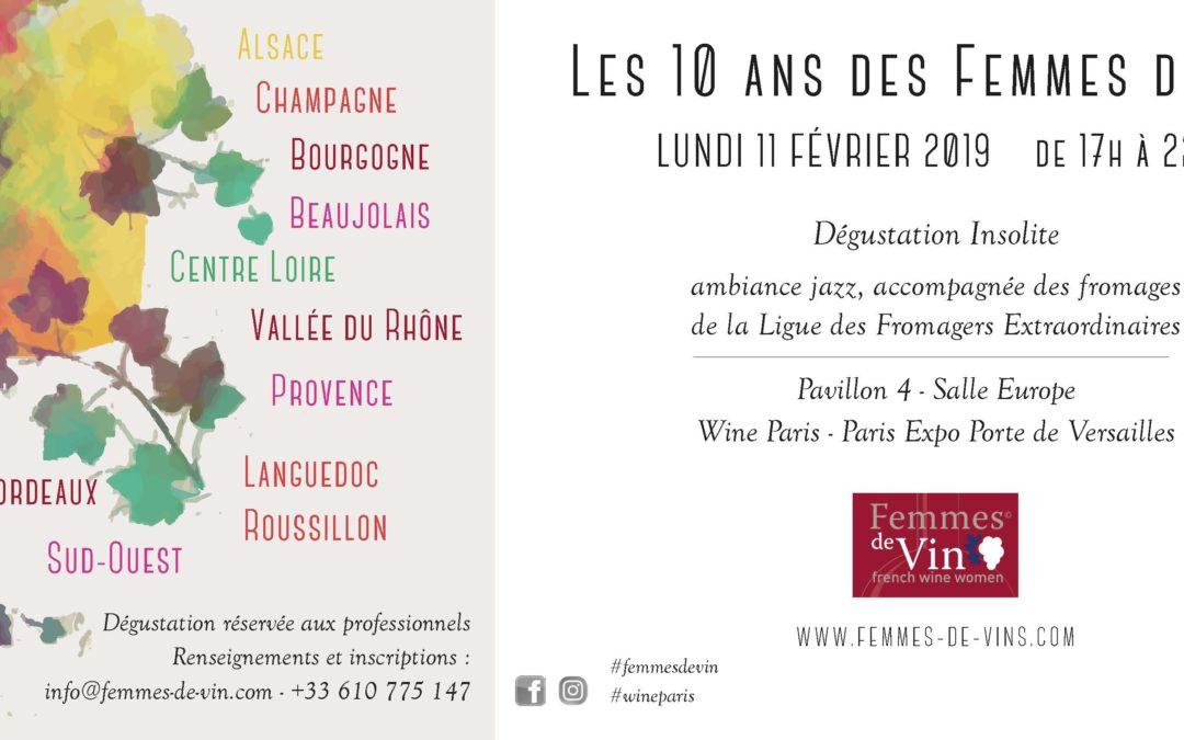 Les 10 ans du Cercle Femmes de vin